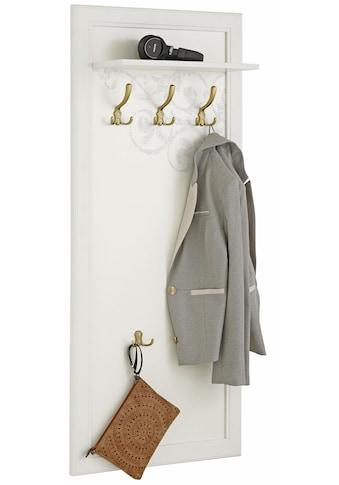 Home affaire Garderobenpaneel »Ella«, 60 cm breit mit 5 Haken kaufen