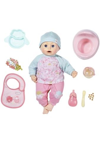 Baby Annabell Babypuppe »Annabell Fütterspaß, 43 cm«, mit Schlafaugen und Sound kaufen