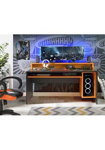 FORTE Gamingtisch »Tezaur«, wahlweise mit RGB-Beleuchtung kaufen