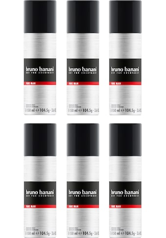 "Bruno Banani Deo - Spray ""Pure Man"", Set 6 - tlg. kaufen"