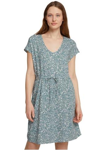 TOM TAILOR Denim Jerseykleid, mit Blümchen-Print kaufen