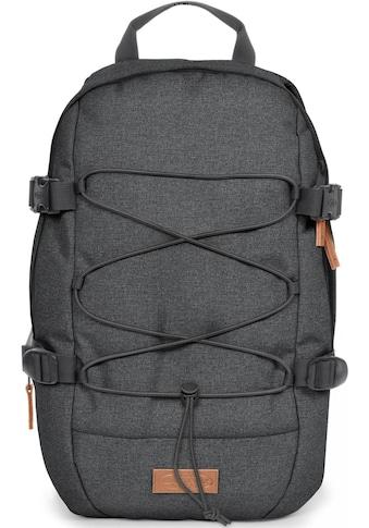 Eastpak Laptoprucksack »BORYS, Black Denim«, Mit Bungee-Seil, enthält recyceltes... kaufen