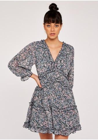 Apricot Druckkleid »Ruffle Details Tiered Dress«, Mit Rüschen kaufen