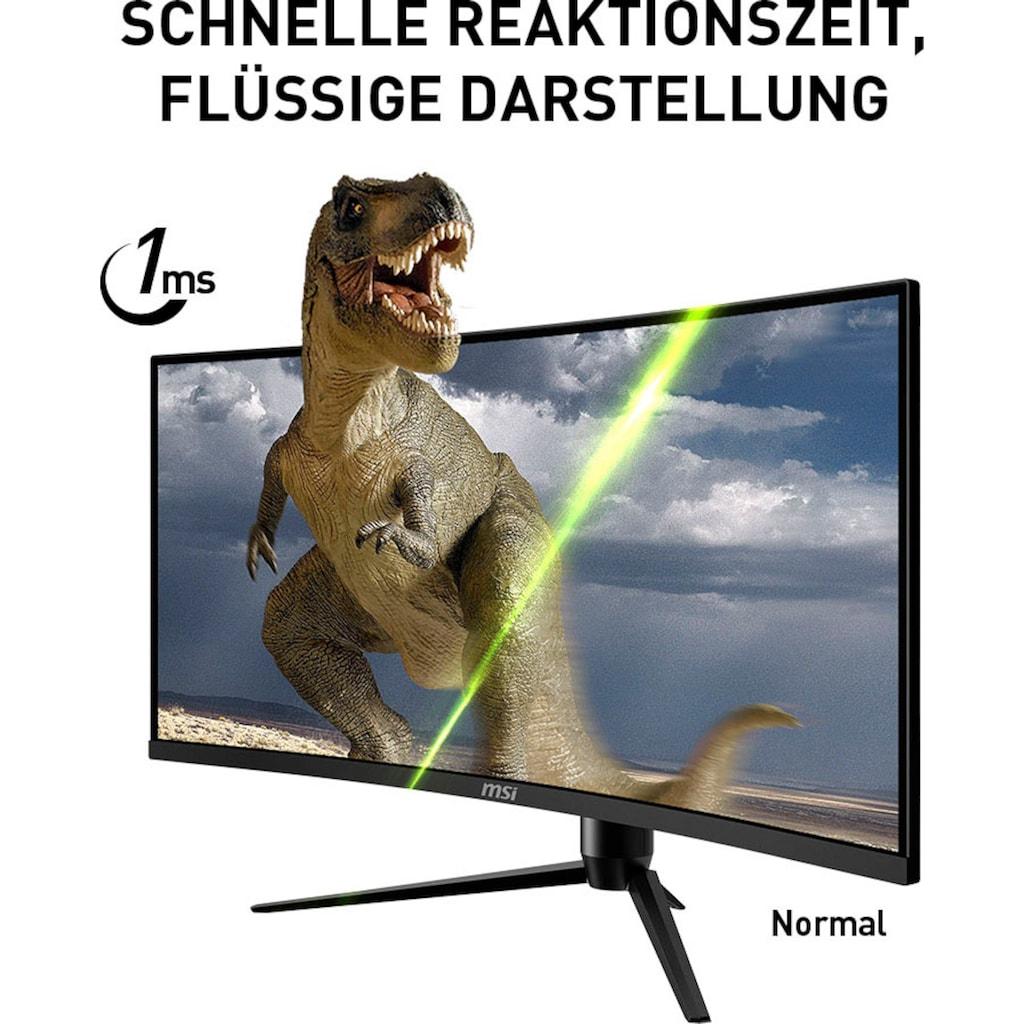 "MSI Curved-Gaming-Monitor »Optix MAG342CQRV«, 86 cm/34 "", 3440 x 1440 px, UWQHD, 1 ms Reaktionszeit, 100 Hz, höhenverstellbar"