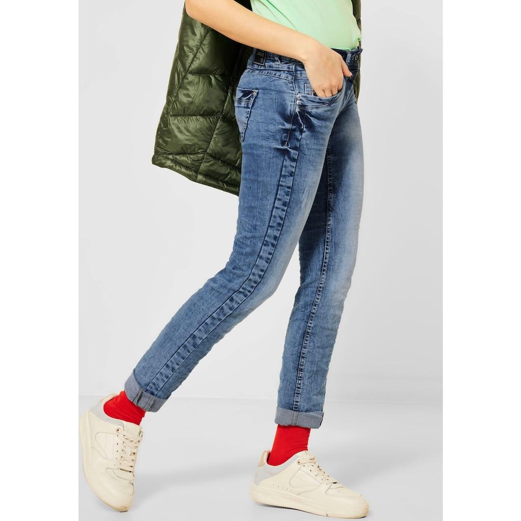 Cecil Slim-fit-Jeans »Scarlett«, mit Herzniete an der Eingriffstasche