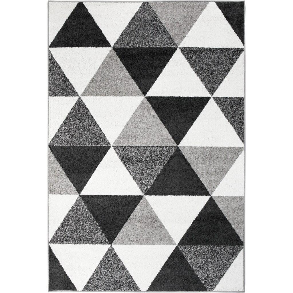 Andiamo Teppich »Salamanca«, rechteckig, 7 mm Höhe, Kurzflor, Wohnzimmer