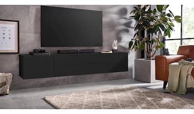 borchardt Möbel Lowboard »Sophia«, Breite 200 cm mit 2 Schubkästen, stehend und hängend kaufen
