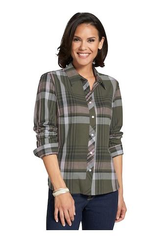 Casual Looks Bluse im garngefärbten Karo - Dessin kaufen