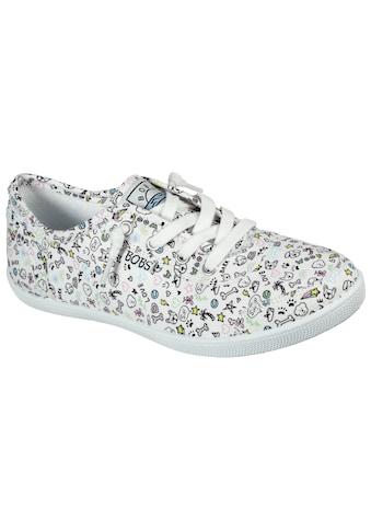 Skechers Slip-On Sneaker »BOBS B CUTE«, mit witzigem Print kaufen