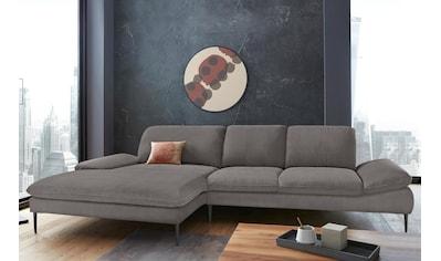 W.SCHILLIG Ecksofa »enjoy&MORE«, mit Sitztiefenverstellung, Füße schwarz... kaufen