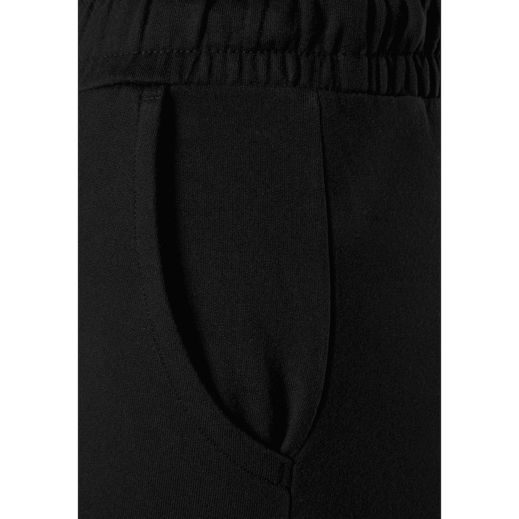 Buffalo Homewearhose, mit schimmerndem Bindeband