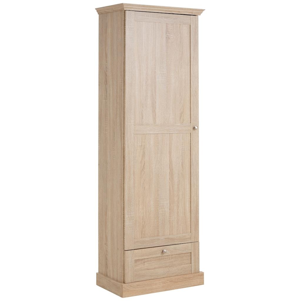 Home affaire Garderobenschrank »Binz«, mit einer schönen Holzoptik, mit vielen Stauraummöglichkeiten, Höhe 180 cm