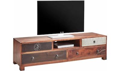 Home affaire Lowboard, Breite 150 cm mit Metallfronten kaufen