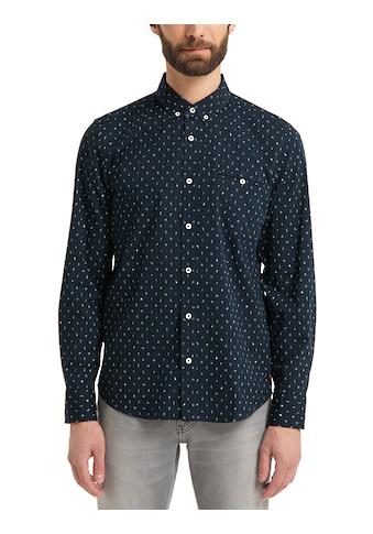 MUSTANG Langarmhemd »Casper mini AOP« kaufen