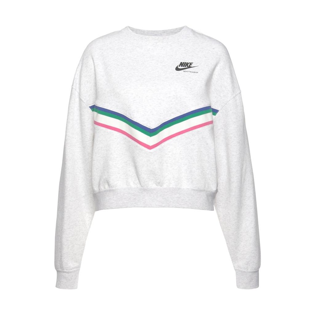 Nike Sportswear Sweatshirt »Heritage Fleece Crew«