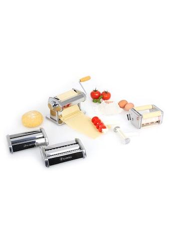 Klarstein Pasta Maker Nudelmaschine 3 Aufsätze handbetrieb kurbelantrieb kaufen