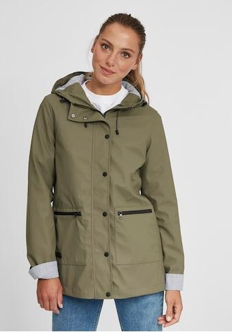 OXMO Regenjacke »Becky«, Übergangsjacke aus wetterfestem Material kaufen