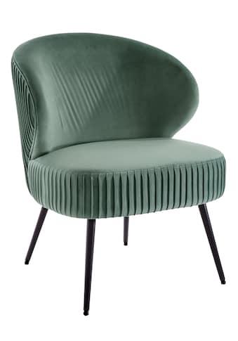 Sessel mit in Falten gelegtem Design kaufen