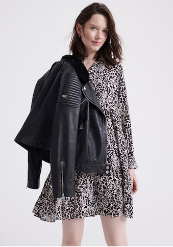 Superdry Blusenkleid »Scandi Shirt Dress«, im Animal Print & leichten Oversized Schnitt kaufen