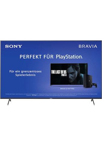 Sony KD85XH8096 Bravia LED - Fernseher (215 cm / (85 Zoll), 4K Ultra HD, Android TV kaufen