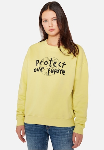 "Mavi Sweatshirt »PROTECT NATURE SWEAT«, mit ""PROTECT OUR FUTURE"" Frontdruck kaufen"