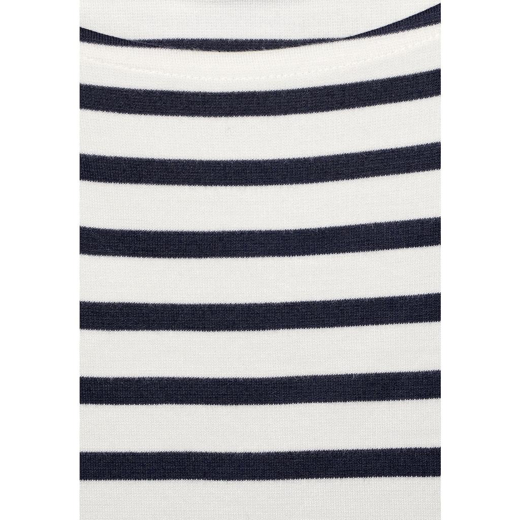 STREET ONE Jerseykleid, mit Streifen