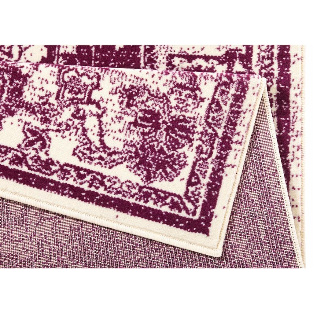 Zala Living Teppich »Glorious«, rechteckig, 9 mm Höhe, Kurzflor, Vintage Optik, Wohnzimmer
