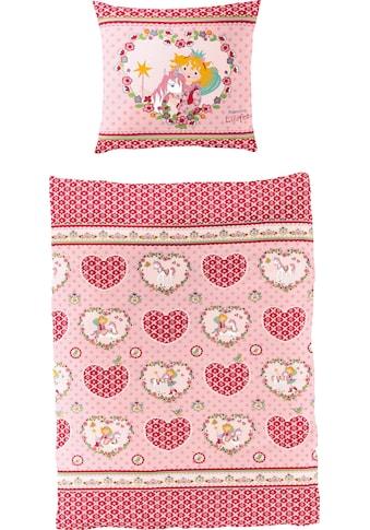 Prinzessin Lillifee Kinderbettwäsche »Herz«, mit Herzen und Blumen kaufen