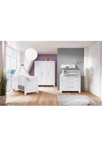 Schardt Babyzimmer-Komplettset »Nordic White«, (Set, 3 St.), Made in Germany; mit... kaufen