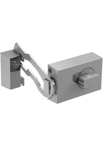 BASI Kastenriegelschloss »KS 500«, Dornmaß 45 mm - Edelstahlfarben (eckig), Sperrbügel kaufen