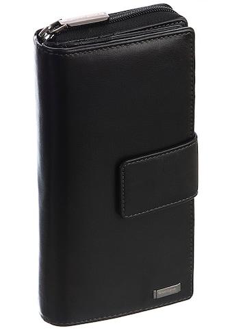 GreenLand Nature Geldbörse »Black Nappa«, mit RFID-Schutz kaufen