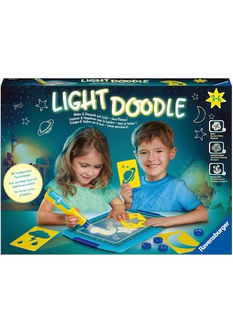 Ravensburger Kreativset »Light Doodle Moon & Stars«, Made in Europe kaufen
