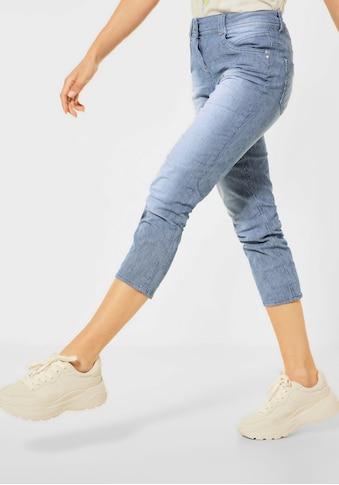 Cecil 3/4-Jeans »Scarlett«, mit Streifenmuster kaufen