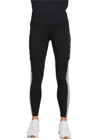esprit sports Leggings, mit Logoschriftzug und grauem Einsatz an der Seite kaufen