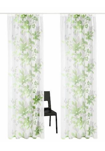Home affaire Gardine »Ina«, Vorhang, Fertiggardine, transparent kaufen