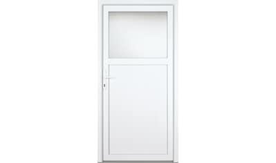 KM Zaun Nebeneingangstür »K301D«, nach Wunschmaß, rechts oder links, mit Griffgarnitur kaufen