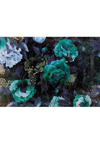 Consalnet Vliestapete »Grüner Blumen Mix«, floral kaufen