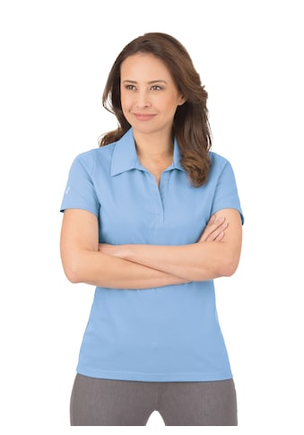 Trigema Poloshirt ohne Knopfleiste kaufen
