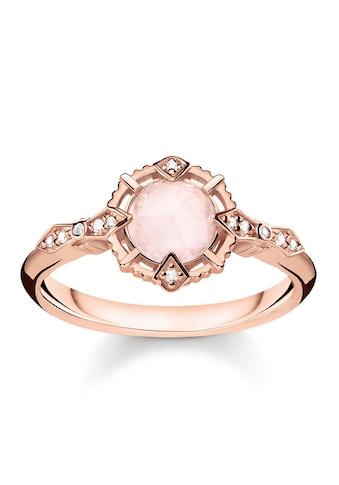 """THOMAS SABO Diamantring »Ring """"Vintage rosa"""", D_TR0043-925-26-48, 50, 52, 54, 56, 58,... kaufen"""