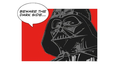 Komar Poster »Star Wars Classic Comic Quote Vader«, Star Wars kaufen