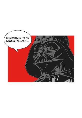 Komar Poster »Star Wars Classic Comic Quote Vader«, Star Wars kaufen