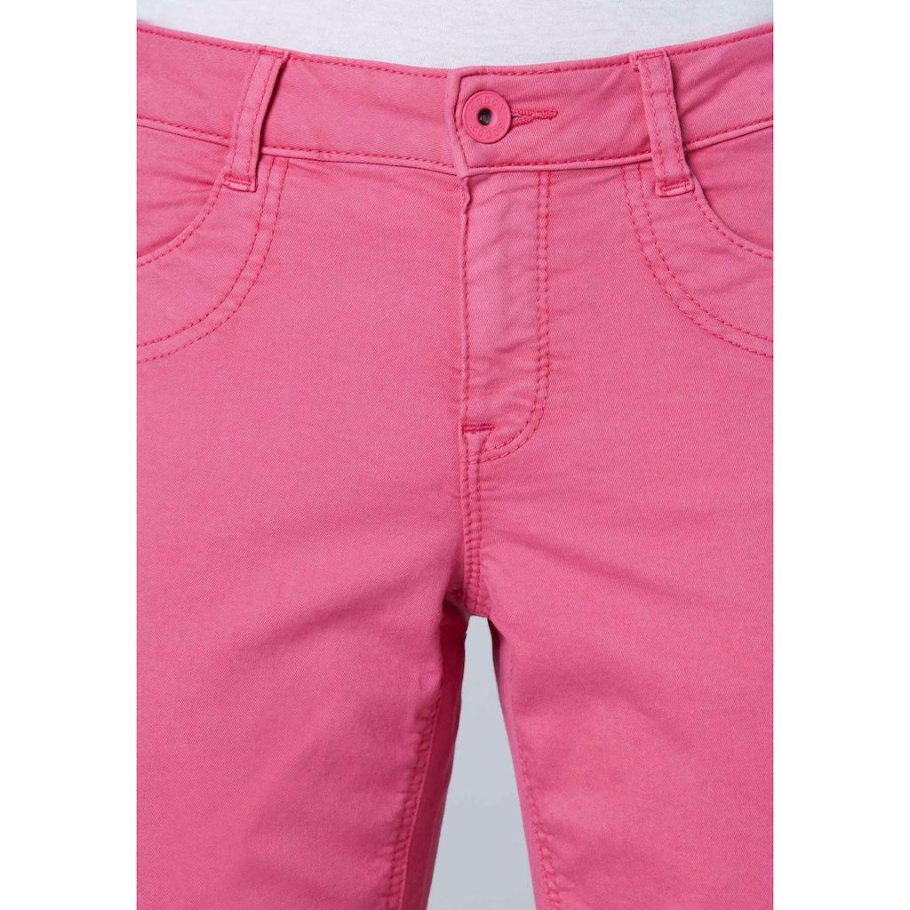 SOCCX Jeansshorts »Deby«, mit Zierband auf der Seitennaht