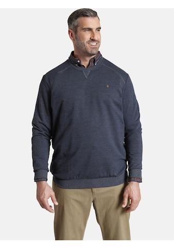 Charles Colby Sweatshirt »EARL LINAS«, Basic im Preppy-Chic kaufen