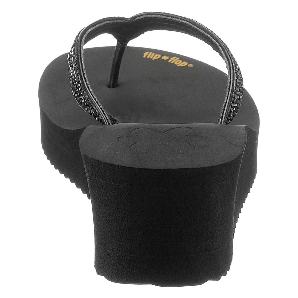 Flip Flop Zehentrenner »glam*hi«, mit weichem Zehensteg