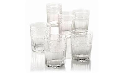 Gläser-Set, (Set, 6 tlg.), Recycling-Glas kaufen