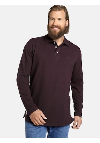 Jan Vanderstorm Langarm-Poloshirt »TORSON«, hochwertiges Baumwoll-Pikee kaufen