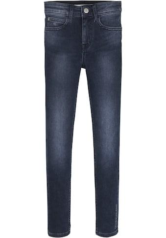 Calvin Klein Jeans Stretch-Jeans »SKINNY HR BLUE BLACK STR«, mit hoher Taille kaufen