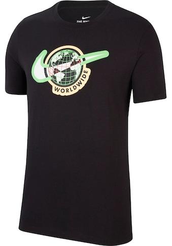 Nike Sportswear T - Shirt »Shortsleeves Tee Swoosh Worldwide« kaufen