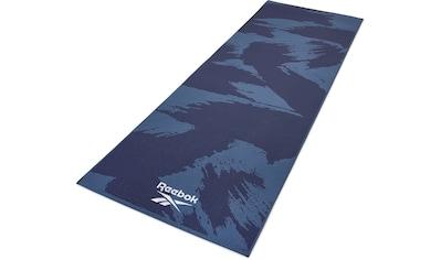 """Reebok Yogamatte »Reebok Yogamatte """"Pinselstrich - Effekt""""  -  beidseitig, rutschfest« kaufen"""
