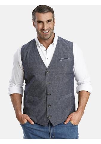 Charles Colby Anzugweste »DUKE DANIEL«, Brusttasche mit Tuch kaufen